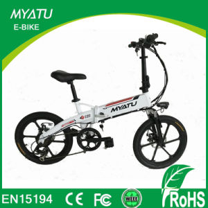 20 Inch Electric Thrust Bike Folding with Aluminum Alloy Wheel pictures & photos