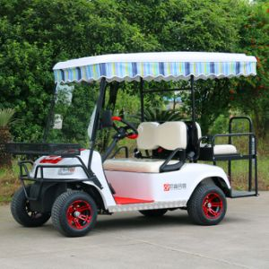 Customized 4 Passenger Electric Golf Cart pictures & photos