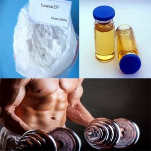 Testosterone Sustanon 250 White Powder for Lean Muscle Gaining pictures & photos
