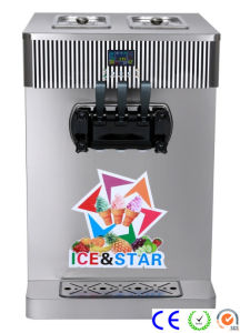 Soft Ice Cream Making Machine (CE approved) Bzxr3120A pictures & photos