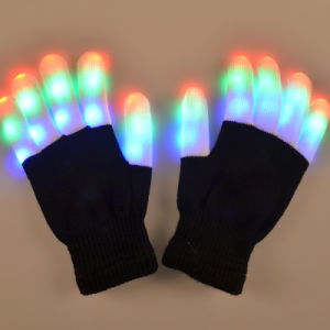 LED Stage and Bar Items Flashing Finger Light Glowing Gloves pictures & photos