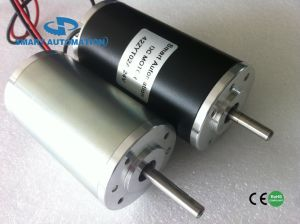 42mm Brush DC Motor, Equivalent to Gr42, Gearbox and Encoder Option pictures & photos