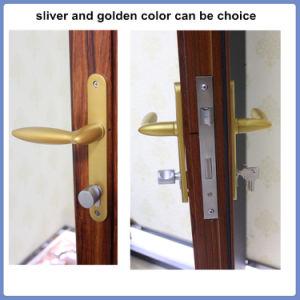 Aluminum Single Leaf Double Swing Door pictures & photos