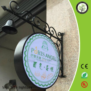 High Quality Advertising Acrylic Double Sides Fixed Light Box pictures & photos