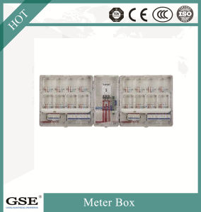 Ce and TUV Certificated Single Phase Electric Box/Meter Box with 2 Position pictures & photos