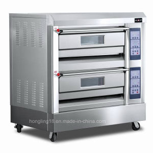Bakery Equipment /4 Trays Gas Deck Oven / Gas Bread Oven pictures & photos