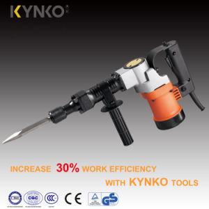 900W Kynko Electric Demolition Hammer/Breaker Hammer for Stone (6232) pictures & photos