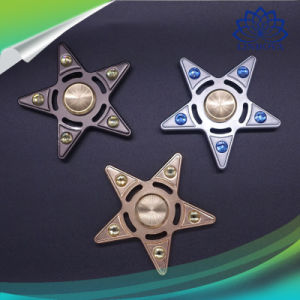 Five-Pointed Star Shape Hand Spinner Metal Finger Spinner 3-4 Minutes Fidget Spinner pictures & photos