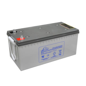 VRLA AGM Gel Deep Cycle Battery for Solar Power Systems (12V 200ah) pictures & photos