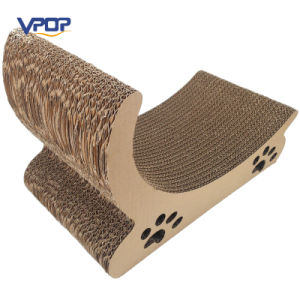 Cute Corrugated Cardboard Cats Scratcher for Cats Toys