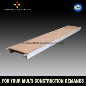 Aluminum Plywood Scaffold Plank for Construction pictures & photos