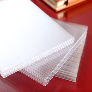 Waterproof Multiwall Plastic PC Polycarbonate Hollow Sheets pictures & photos