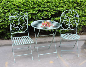 Foldable Antique Table Set for Garden pictures & photos