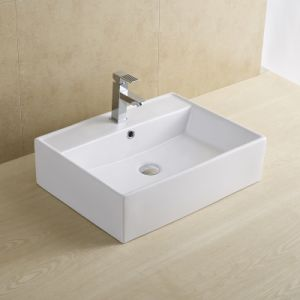 Rectangular Bathroom Wash Basin 8008 pictures & photos