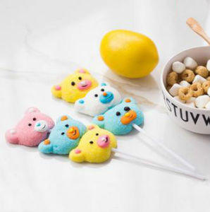 3D Cartoon Shape Toy Soft Candy Marshmallow Lollipop pictures & photos