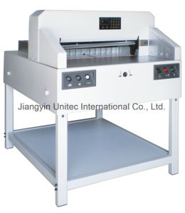 New Arrival Product Program-Controlled Paper Cutter Guillotine Machine 6508px pictures & photos
