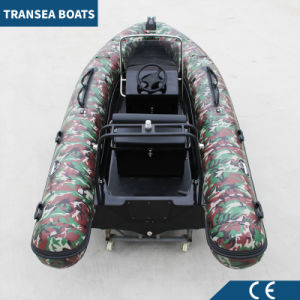2017 Most Popular Camouflage Inflatable Rib Boat pictures & photos