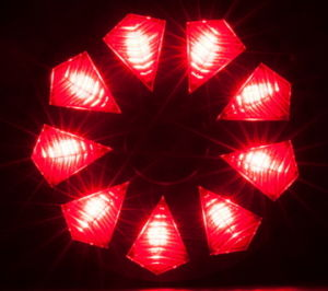 High Bright 9 Diamond LED Bike Tail Light pictures & photos