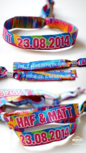 Custom Promotional Cheap Fabric Woven Wrist Band From China pictures & photos