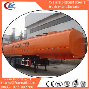 3-Axels 50 Cubic Meters New Fuel Oil Tank Semi Trailer Price pictures & photos