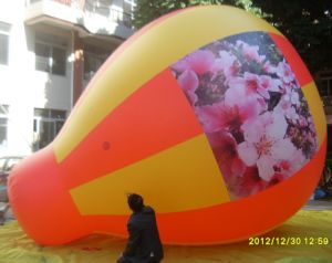 Outdoor Flying Advertising Helium Water Drop Balloon pictures & photos