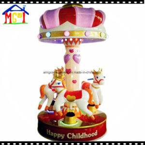 Coin Operated Swing Ride for Kids Amusement Crown Carousel B pictures & photos