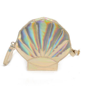 Shiny PU Shell Handbags Teen Girl′s Shoulder Bag pictures & photos