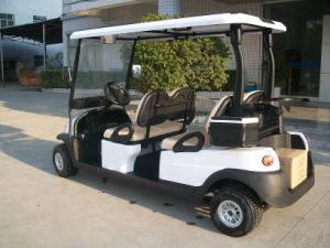China Cheap 4 Seater New Golf Buggy for Sale pictures & photos