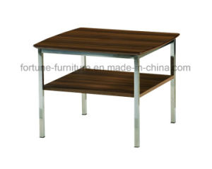 Modern Simple Wooden Walnut Coffee Table (B502-50) pictures & photos
