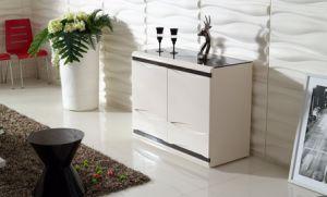 White Melamine Modern Bathroom Cabinet Kitchen Cabinet (CG-147B) pictures & photos