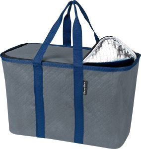 Snapbasket Thermo XL 40 Liter Reusable Tote Bag with Reinforced Bottom: Collapsible Grocery Shopping Basket pictures & photos