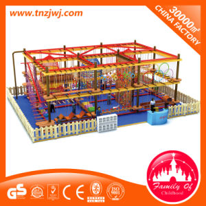 Indoor Rope Courses Children Playground Set for Climbing pictures & photos