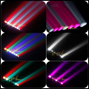 7X15W 4in1 LED Moving Head Pixel Bar Light with Endless Rotation pictures & photos
