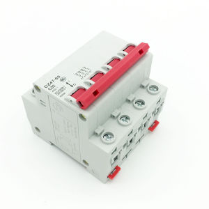 Dz47-32 Mini Ciciuit Breaker 4p pictures & photos
