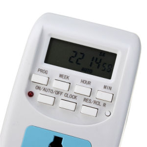 Digital Time Switch Timer with UK Socekt and UK Plug Al-06 pictures & photos