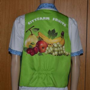 Supermarket Workwear/Fruit Shop Vest/Salesman Vest pictures & photos