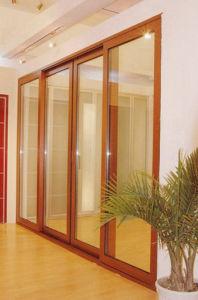 Alu-Wood Sliding Door pictures & photos