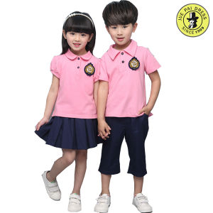 Kindergarten School Uniform Polo Shirts, Nursery School Uniforms Pants and Skirts pictures & photos