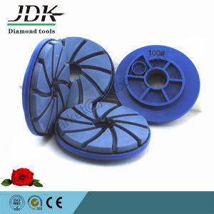 High Quality Diamond Snail Lock Polishing Pads for Granite pictures & photos