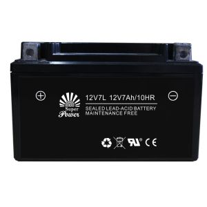 Starting Motorcycle Battery 12V 7ah VRLA Serial (12V7L) with Capacity 7ah and Voltage 12V pictures & photos