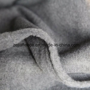 Spun Fleece Fabric with 1 Side Burshed pictures & photos