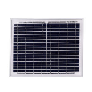18V 10W Polycrystalline Silicon Solar Panels pictures & photos