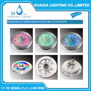 High Power 27W Stainless Steel LED Fountain Underwater Light pictures & photos