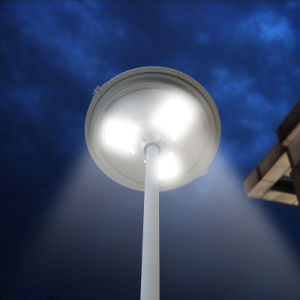High Power LED Solar Street Lights with Pole Yard Lamp with Ce RoHS pictures & photos