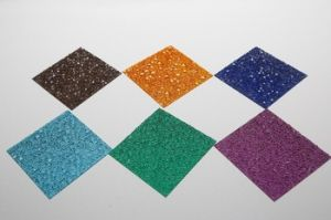 2.5mm Thick Policarbonato Compacto Diamond Embossed Sheet pictures & photos