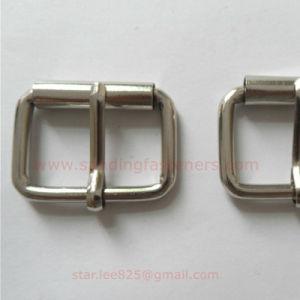 Metal Zinc Alloy Square Belt Buckle Hardware for Handbag pictures & photos