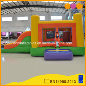Colorful Combo Jumping Bouncer Inflatable with Slide (AQ720-8) pictures & photos