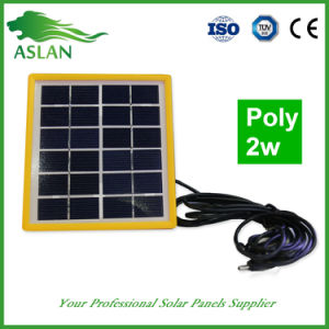 Hot Sell 6 Volts 2 Watts Solar Panels in India pictures & photos