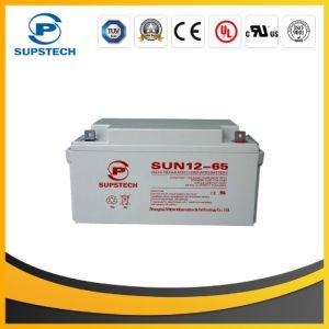Deep Cycle Solar Battery (12V 65ah) pictures & photos