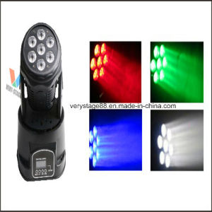 7X10W Mini LED Moving Head Disco Wash Light pictures & photos